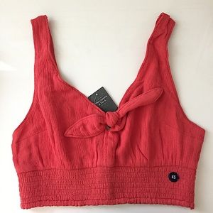 NWT Abercrombie Cropped Tank Top